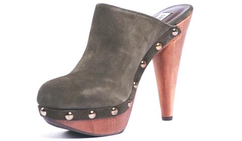 clogs high heels